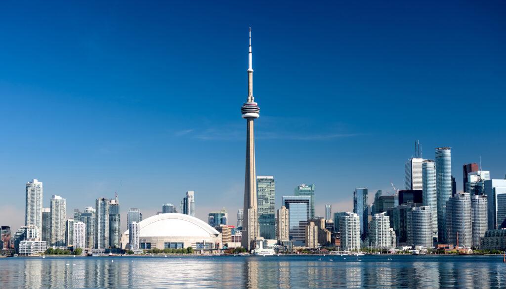 Epic skyline of Toronto
