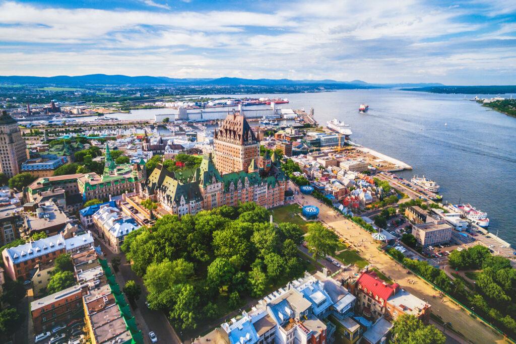 Historic old quarter of Quebec