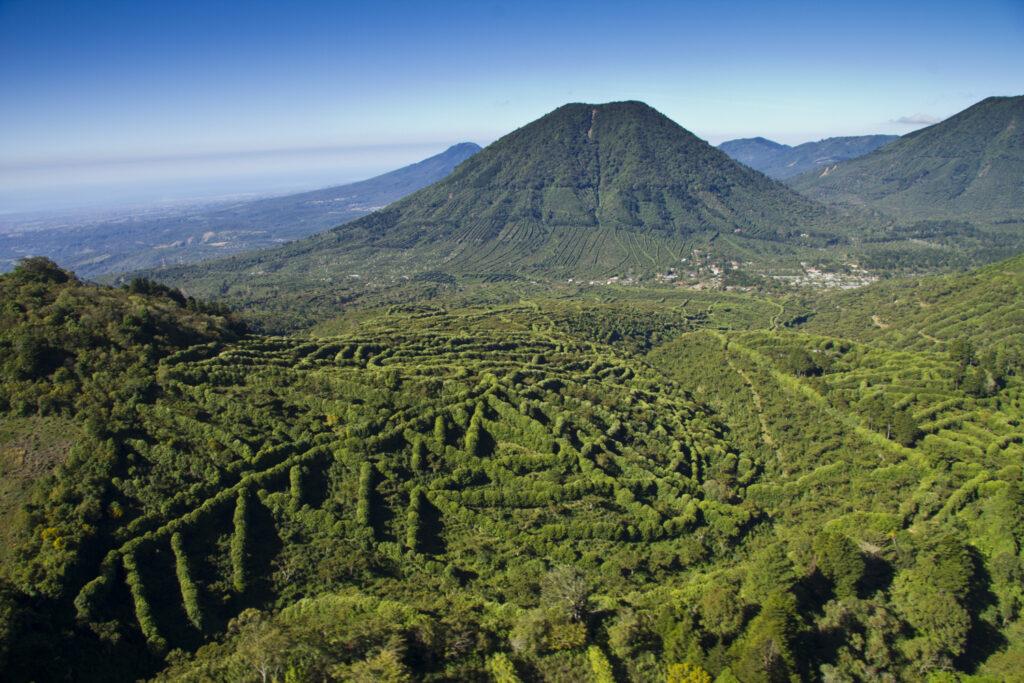 Mountain ranges in El Salvador