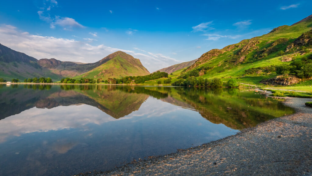 Gorgeous pristine landscapes of the Lake District