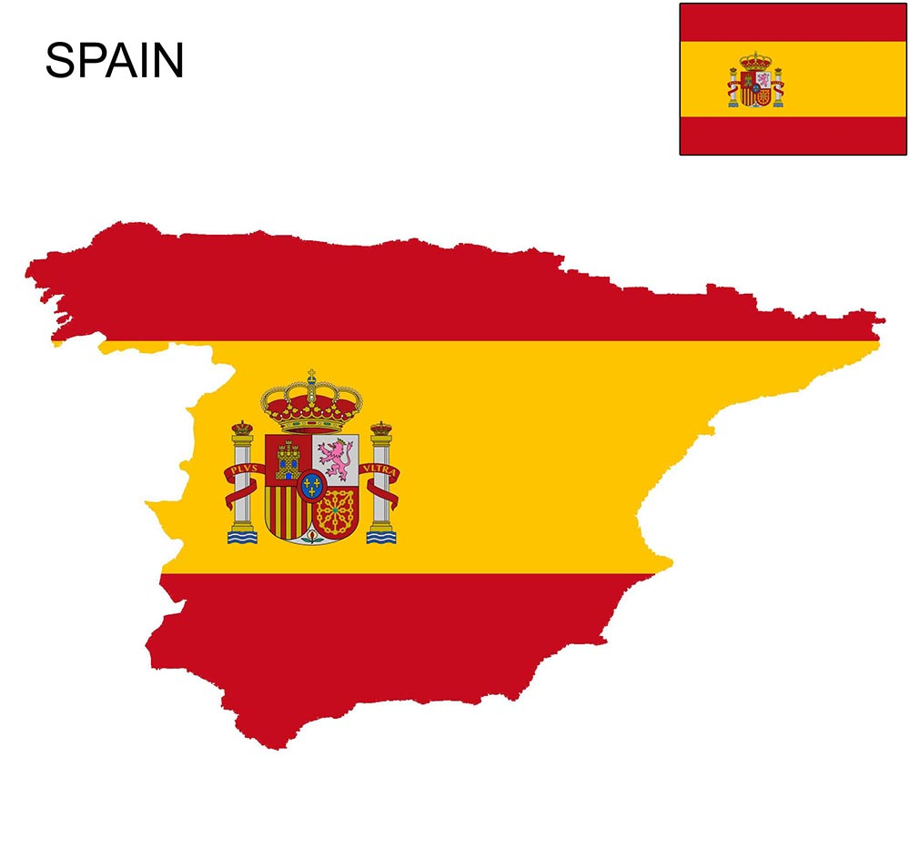 Spain Flag Map and Meaning 1