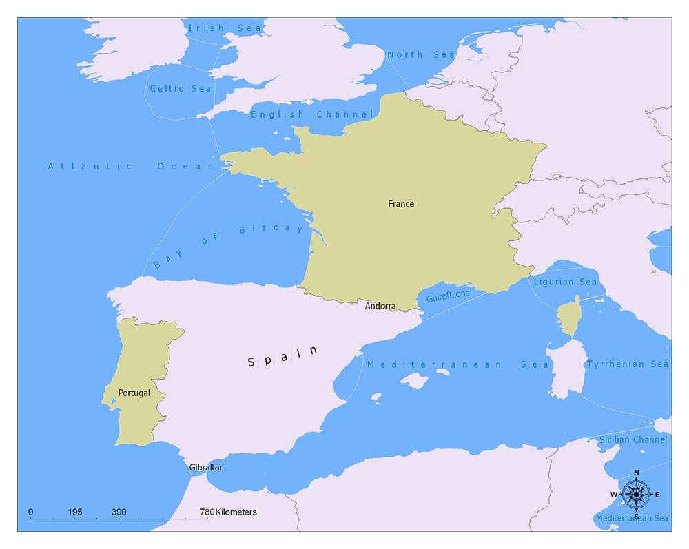 Spain Flag Map and Meaning 2