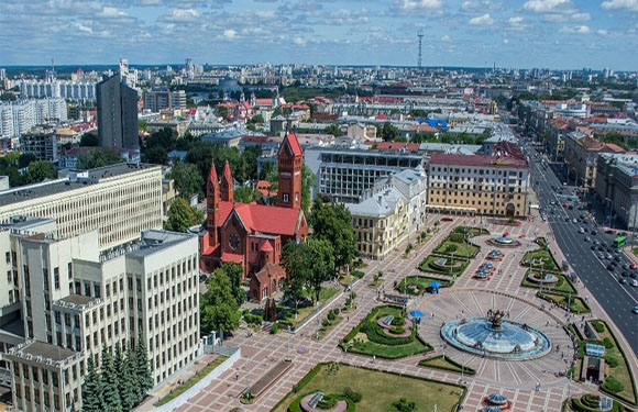What is the Capital of Belarus? 1