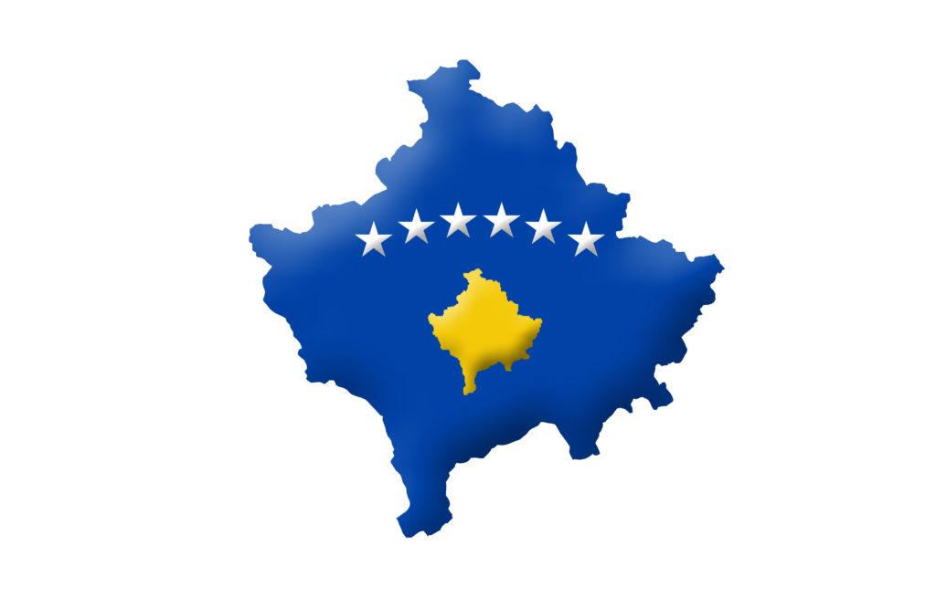 Republic of Kosovo map