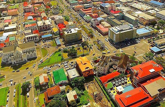 What is the Capital of Guyana? 2