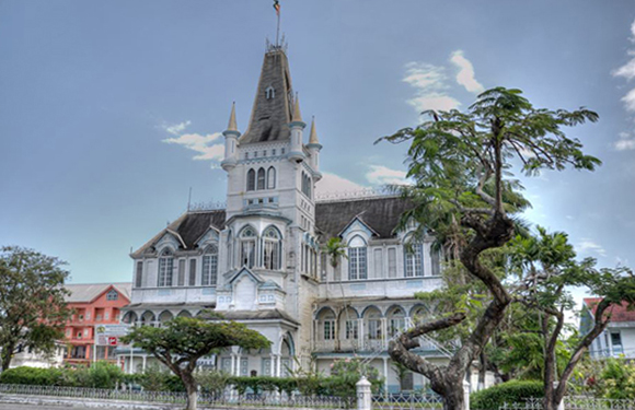 What is the Capital of Guyana? 3