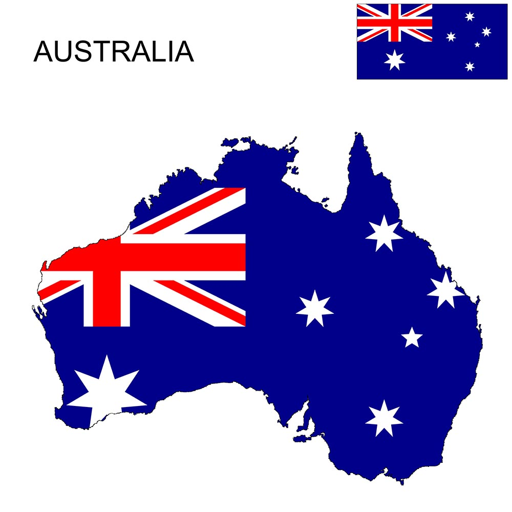 Australia Flag Map and Meaning 1