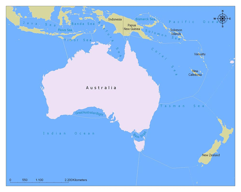 Australia Flag Map and Meaning 2