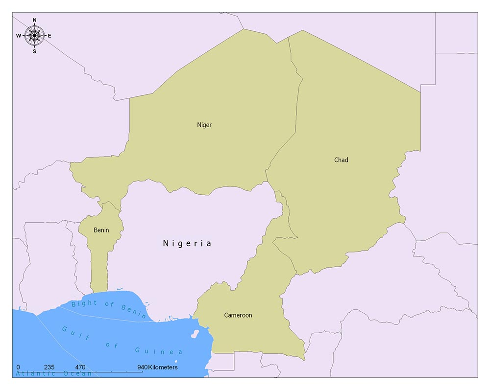 Nigeria Flag Map and Meaning 2
