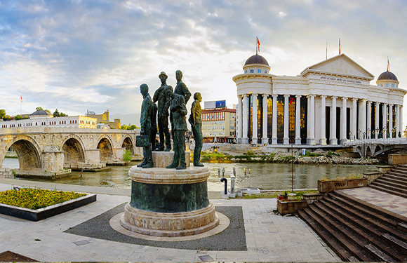 What is the Capital of Macedonia? 2