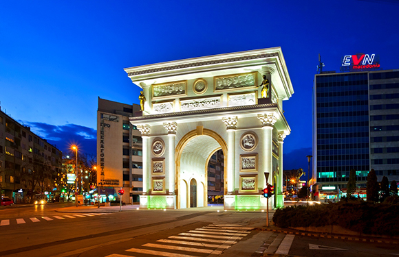 What is the Capital of Macedonia? 3