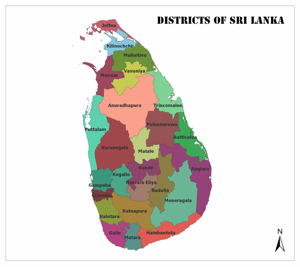 Districts of Sri Lanka 1