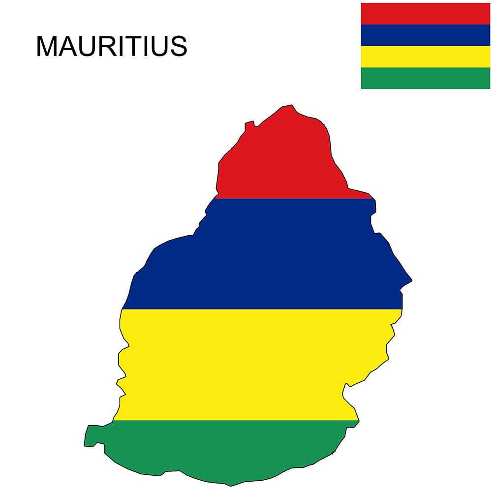 Mauritius Flag Map and Meaning 1