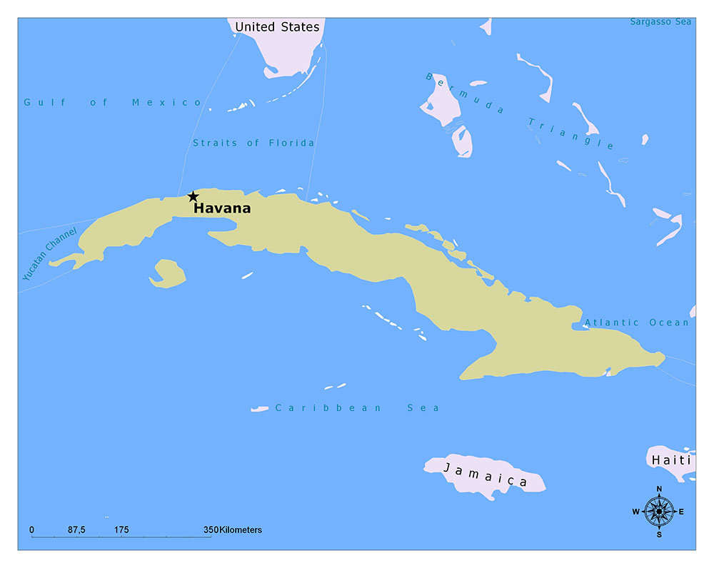 What is the Capital of Cuba? 1