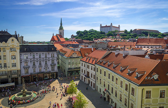 What is the Capital of Slovakia? 2