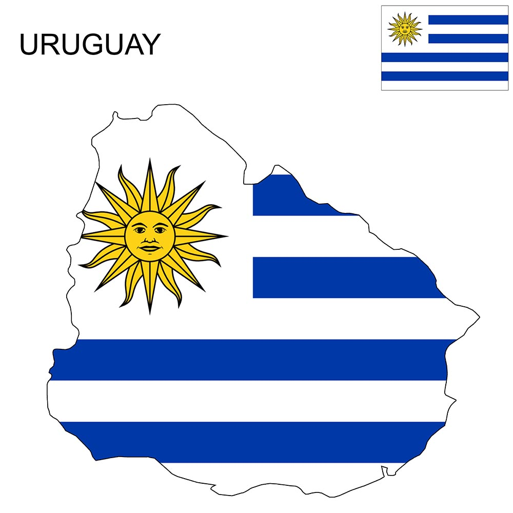 Uruguay Flag Map and Meaning 1