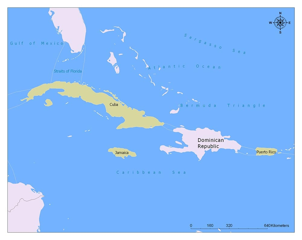Dominican Republic Flag Map and Meaning 2