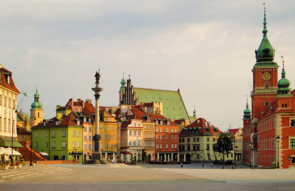 What is the Capital of Poland? 2