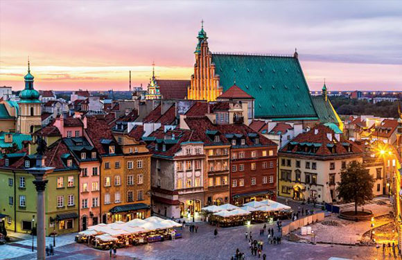 What is the Capital of Poland? 3