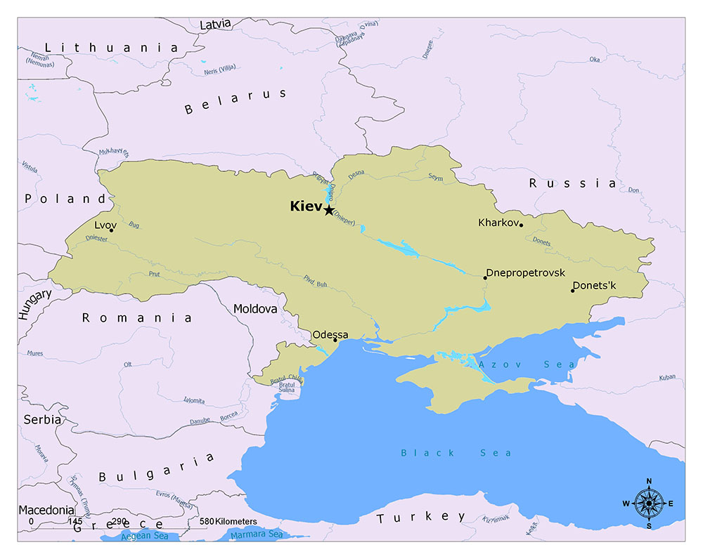 What is the Capital of Ukraine? 1