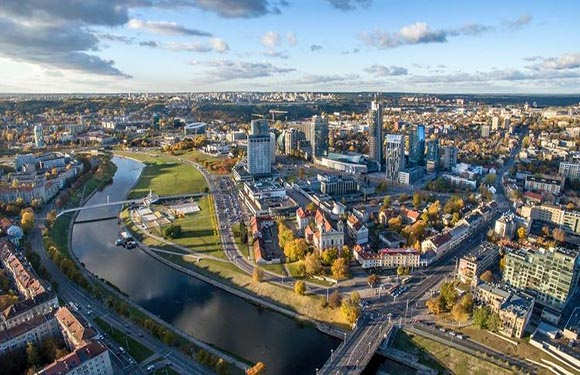 What is the Capital of Lithuania? 1