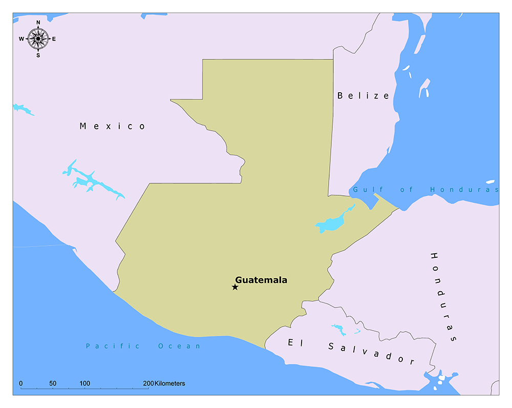 What is the Capital of Guatemala? 1