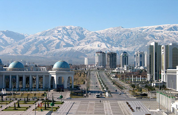 What is the Capital of Turkmenistan? 2