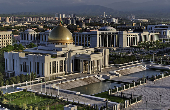 What is the Capital of Turkmenistan? 3