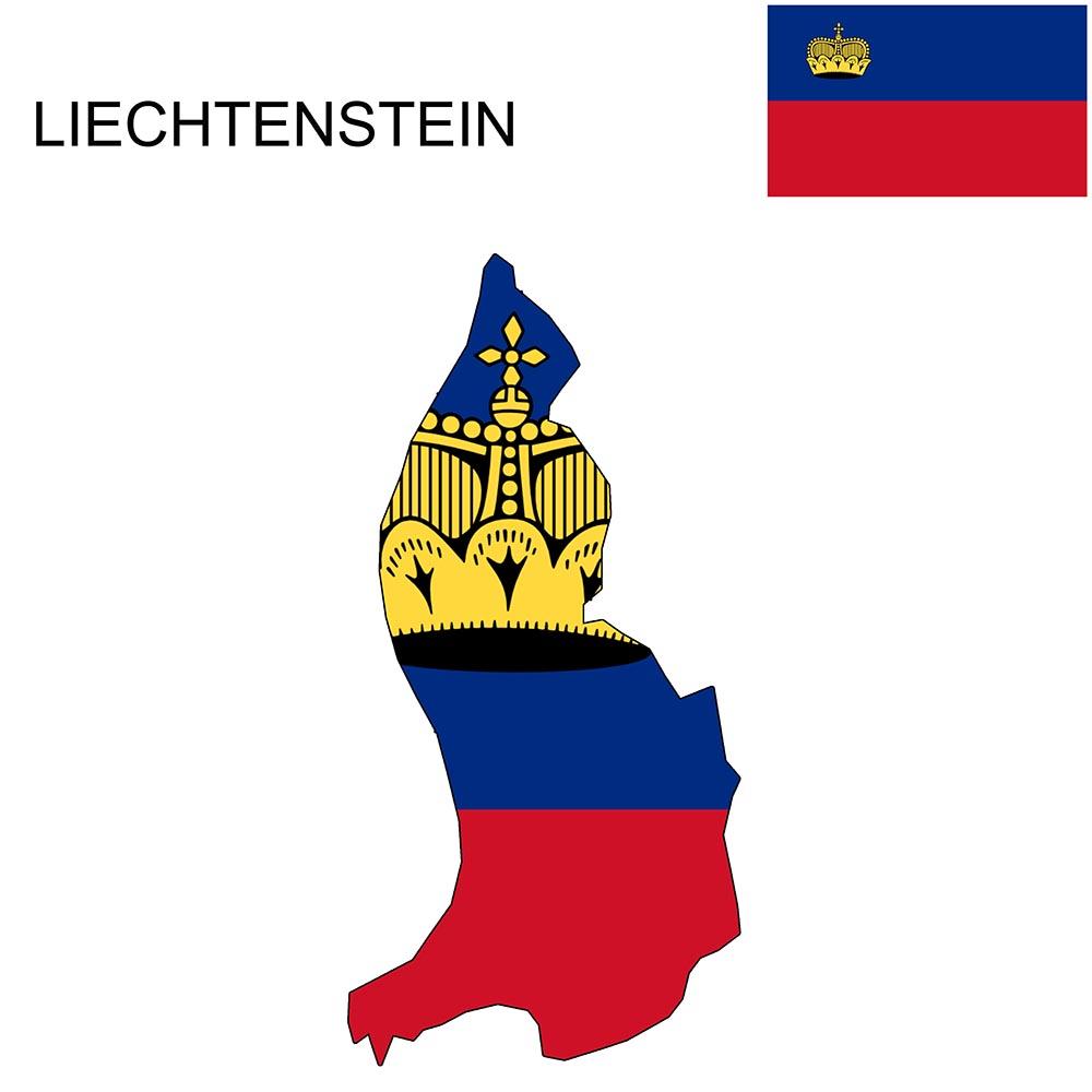Liechtenstein Flag Map and Meaning 1
