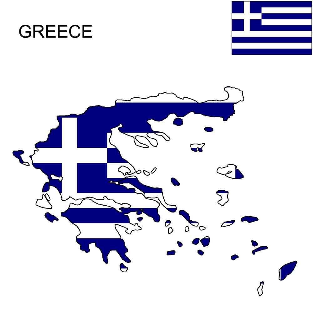 Greece Flag Map and Meaning 1