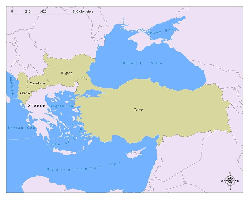 Greece Flag Map and Meaning 2