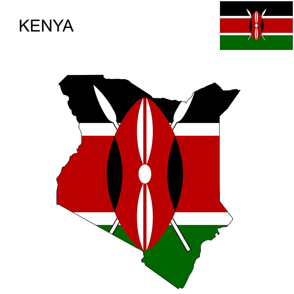 Kenya Flag Map and Meaning 1