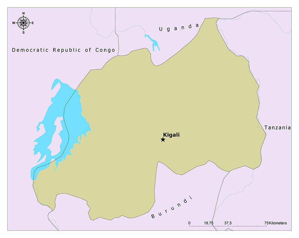 What is the Capital of Rwanda? 1