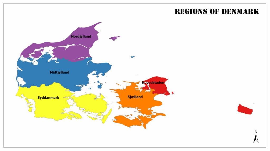 Regions of Denmark 1