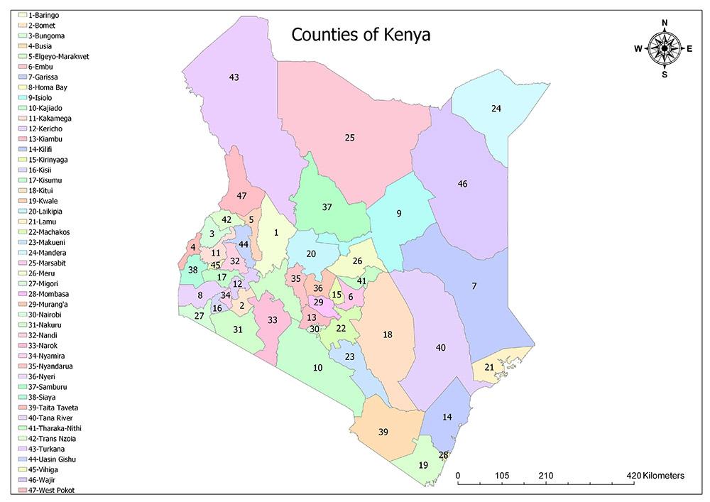 Counties of Kenya 1