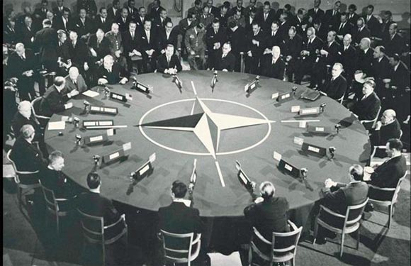 North Atlantic Treaty Organization (NATO)/NATO Map 4