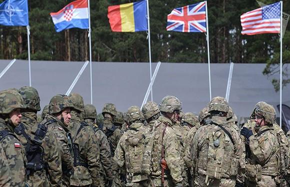 North Atlantic Treaty Organization (NATO)/NATO Map 17