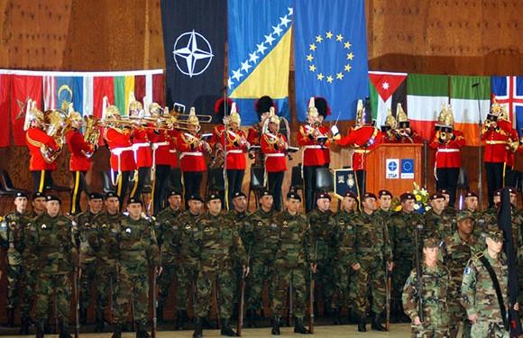 North Atlantic Treaty Organization (NATO)/NATO Map 18