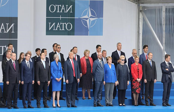 North Atlantic Treaty Organization (NATO)/NATO Map 20