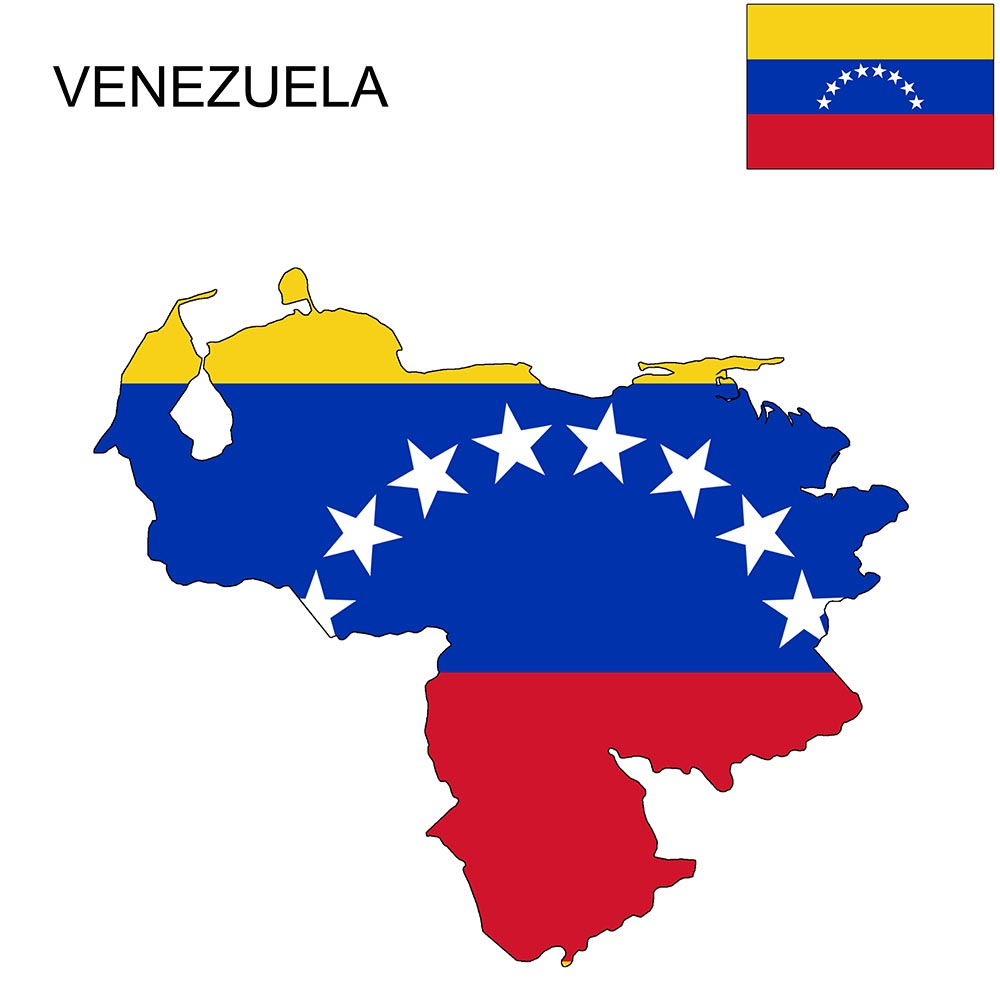 Venezuela Flag Map and Meaning 1