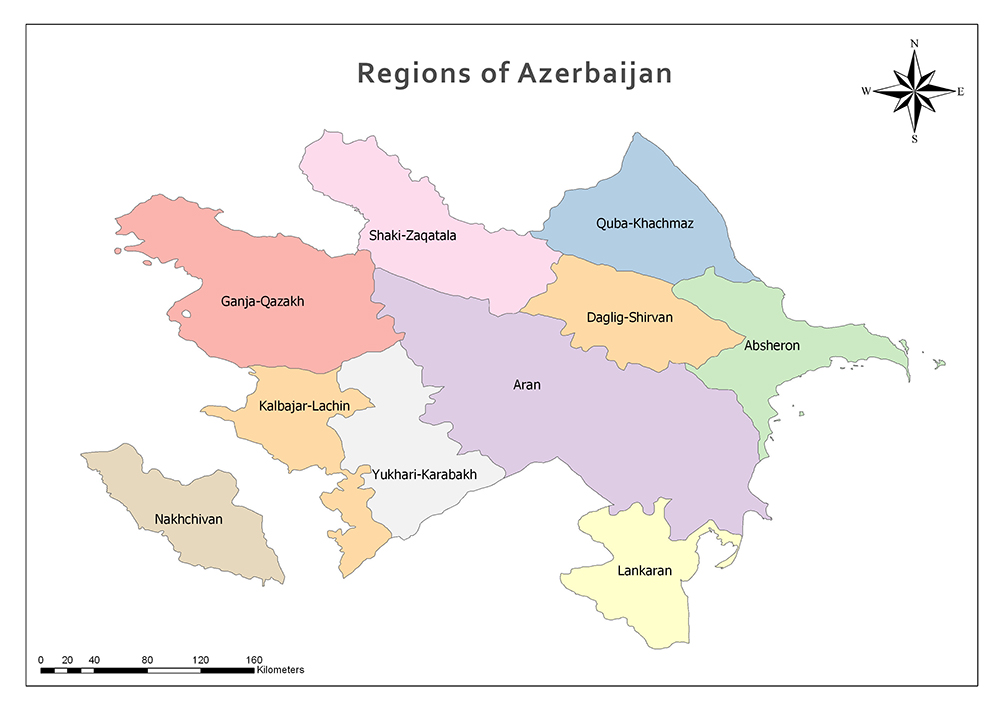 Regions of Azerbaijan/Economic Regions of Azerbaijan 1