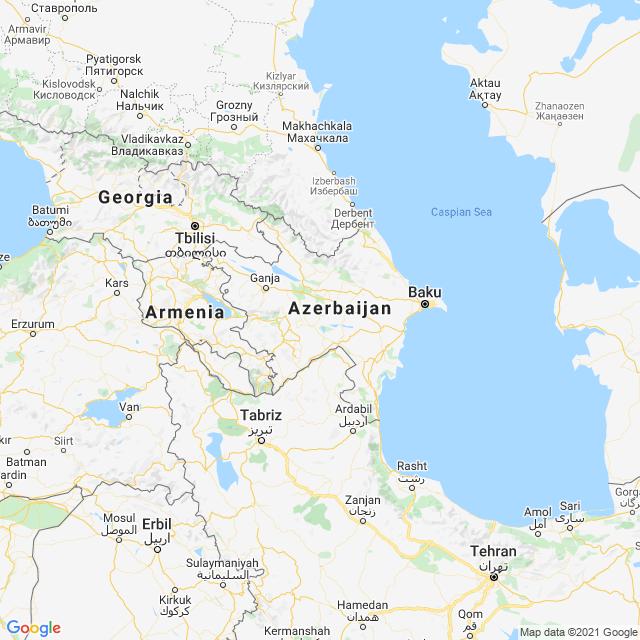 Azerbaijan Map 1