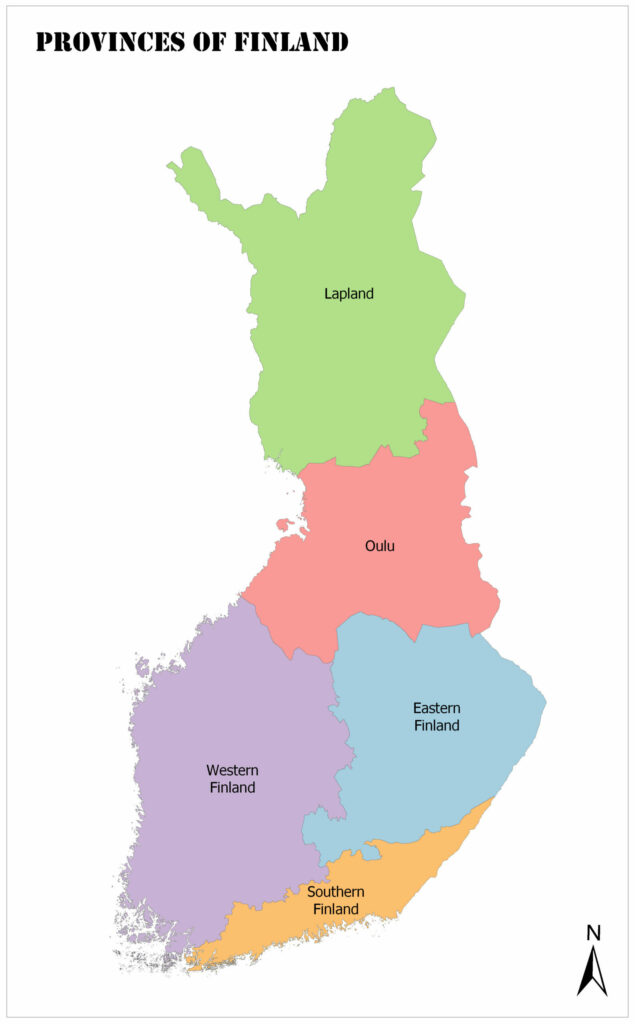 Finland Map, Provinces, Geography, and Facts 1