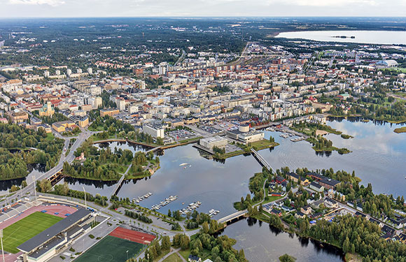 Finland Map, Provinces, Geography, and Facts 5