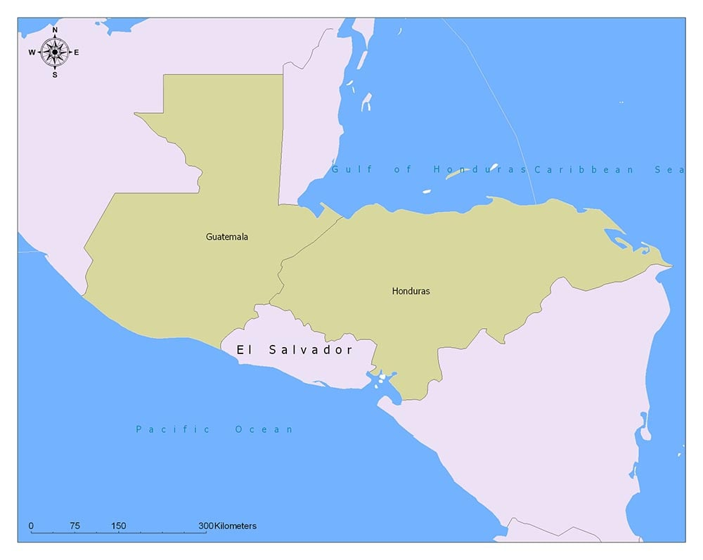 El Salvador Flag Map and Meaning 1
