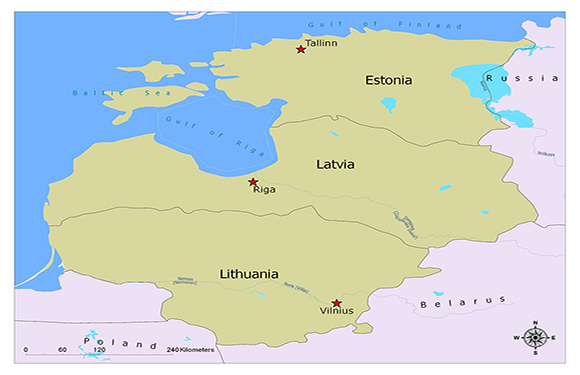 Warsaw Pact/Members, History, Map 1