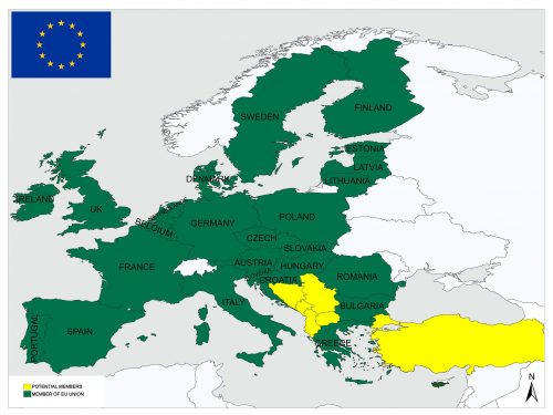 Warsaw Pact/Members, History, Map 2