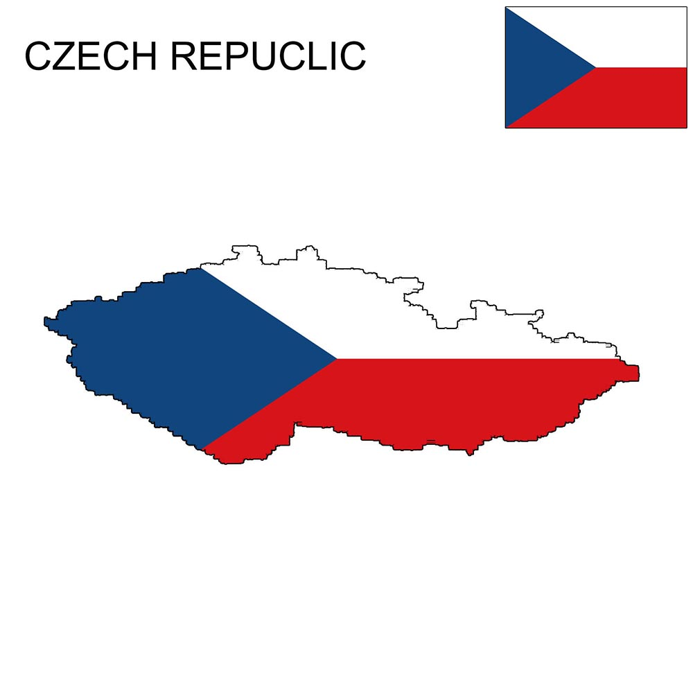 Czech Republic Flag Map and Meaning 1