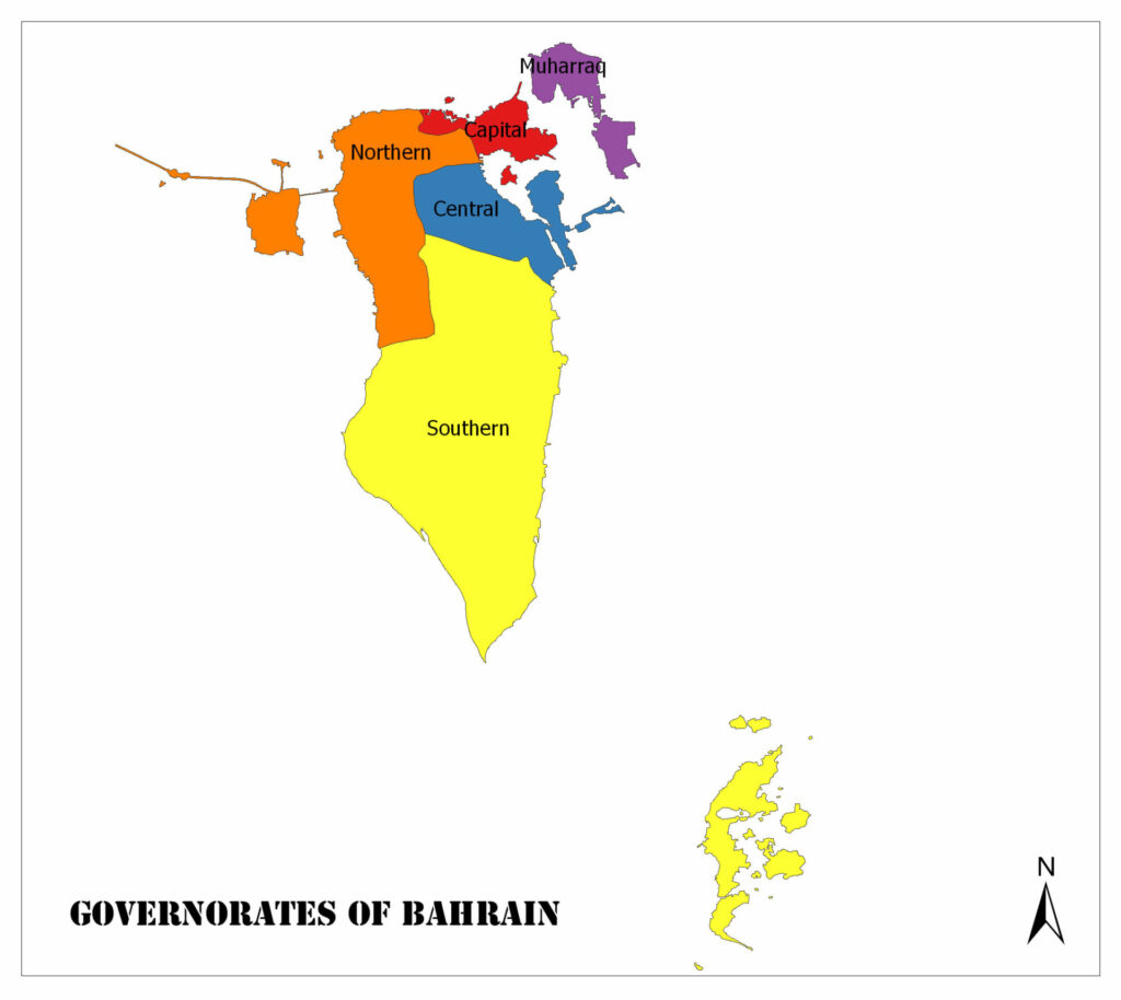 Governorates of Bahrain 1