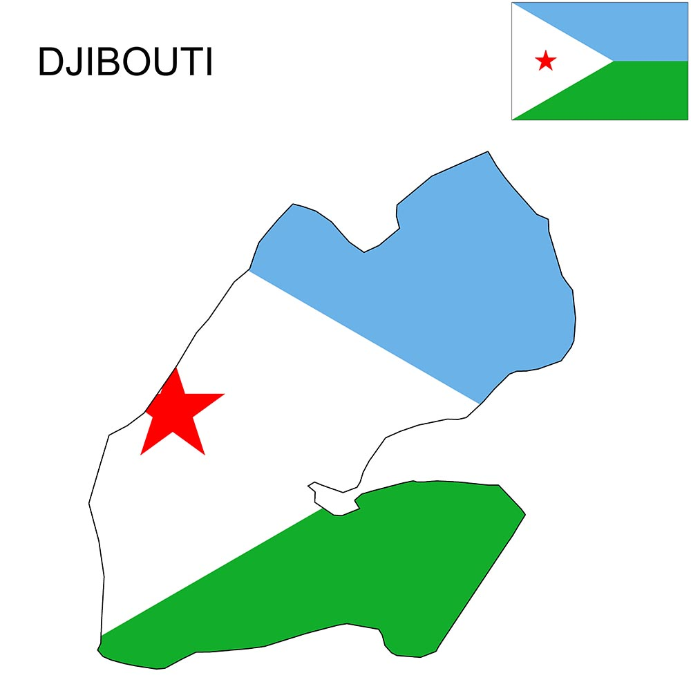 Djibouti Flag Map and Meaning 1